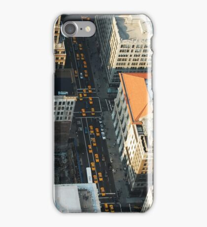Yellow Taxi Cars New York City iPhone Case/Skin