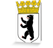 Coat of Arms of Berlin Greeting Card