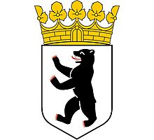 Coat of Arms of Berlin Photographic Print