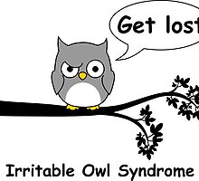 Irritable Owl syndrome by RixzStuff
