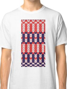 Funny knitted pattern Classic T-Shirt