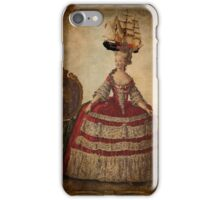 Maire Antoinette Gets a New Hat iPhone Case/Skin
