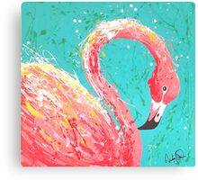 Flaunting Flamingo Canvas Print