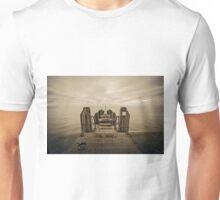Towards Ireland, Aberystwyth Unisex T-Shirt