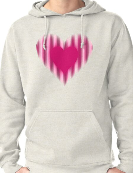 My Heart Beats For You Pullover Hoodie