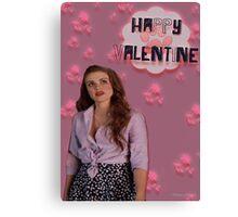 Happy Valentine [Lydia] Canvas Print