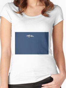 RAAF FA-18 Super Hornet Women's Fitted Scoop T-Shirt