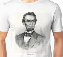 Abraham Lincoln - The Nation's Martyr - 1865 Unisex T-Shirt