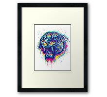 kiss of the tiger Framed Print