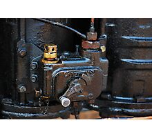 Steam train engine detail Photographic Print