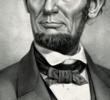 Abraham Lincoln The martyr president - assassinated April 14th 1865 - 1865 Sticker