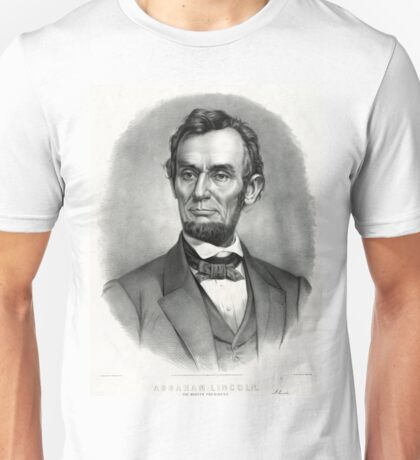 Abraham Lincoln The martyr president - assassinated April 14th 1865 - 1865 Unisex T-Shirt