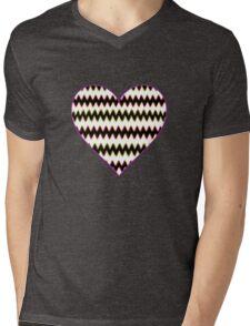 Love Cardiogram Mens V-Neck T-Shirt