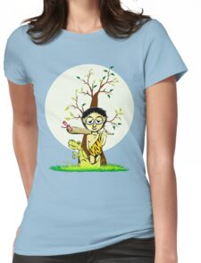 prehistoric childhood Womens Fitted T-Shirt