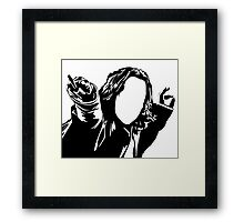 The Potions Master - vacant expression Framed Print