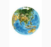 Planet earth watercolor art print painting Unisex T-Shirt