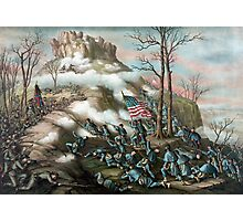 The Battle of Lookout Mountain Photographic Print