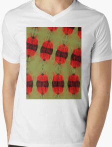 Fury bon bons Mens V-Neck T-Shirt
