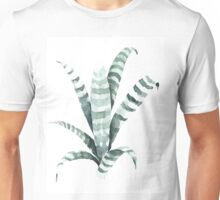 Tiger Plant Watercolor Painting Unisex T-Shirt
