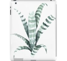 Tiger Plant Watercolor Painting iPad Case/Skin