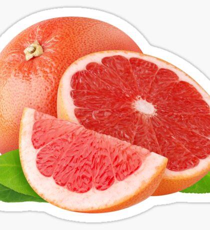 Pink grapefruit Sticker