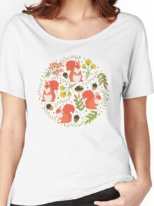 Squirrels Women's Relaxed Fit T-Shirt
