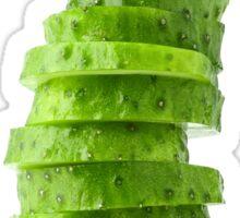 Slices of cucumber Sticker