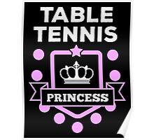Table tennis princess! Poster