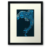 Sweet Dolphin - High Resolution Framed Print