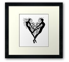 Loving angels  Framed Print