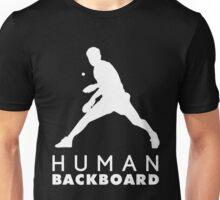 Human blackboard! Unisex T-Shirt