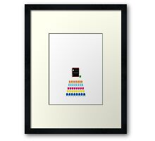 Old Game of Space Framed Print