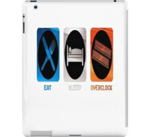 Eat, Sleep, Overclock iPad Case/Skin