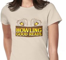 Howling good reads bookstore logo The Others reading series fan art Womens Fitted T-Shirt