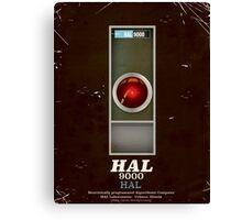 HAL 9000 Vintage magazine advertisment Canvas Print
