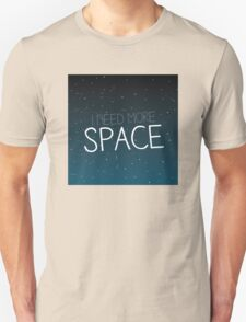 I need more space on starfield Unisex T-Shirt