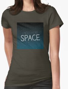 I need more space on starfield Womens Fitted T-Shirt