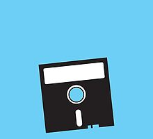 3 INCH Floppy Disk DRIVE Old skool geekery by jazzydevil