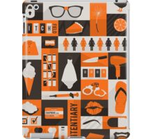 Inmate - Minimalist Collage iPad Case/Skin