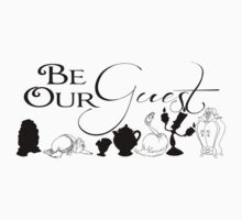 Be our Guest Kids Tee