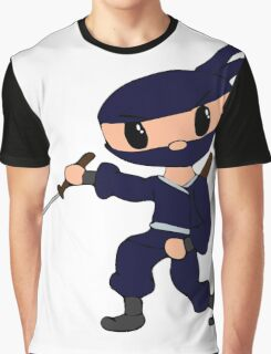 Chibi Ninja Vio Graphic T-Shirt