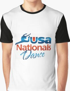 USA Nationals Dance Graphic T-Shirt