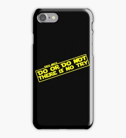 There is No Try iPhone Case/Skin