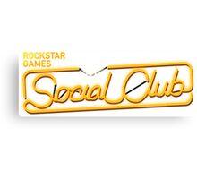 rockstar games social club Canvas Print