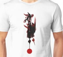 Reimu Abstract Red Unisex T-Shirt
