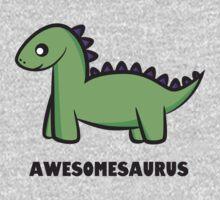 Awesomesaurus (green) One Piece - Long Sleeve