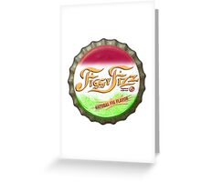 Figgy Fizz - Bert's missing bottle cap Greeting Card