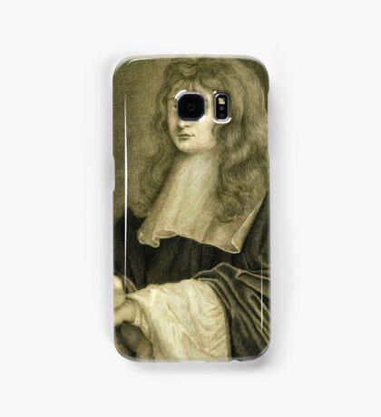 Sir Isaac Newton illustration Samsung Galaxy Case/Skin