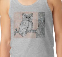 Who Gives A Hoot Tank Top