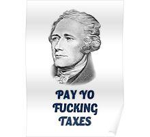 Pay yo fucking taxes Poster